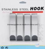 H1028 Stainless Steel Over Door Hook Hanging Hook Load 3.0kgs
