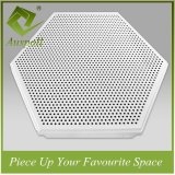600 Fireproof and Soundproof Perforated Aluminum Decoration Ceiling Tiles