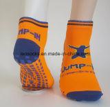 Custom Anti Slip Kids Jump Trampoline Sport Socks