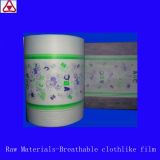 Breathable Clothlike Film for Baby Diaper