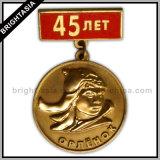 Quality 3D Figure Pin Badge for Souvenir (BYH-10012)