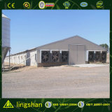 Lingshan Light Steel Structure Poultry House (L-S-C1-3) --ISO9001: 2008