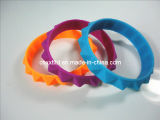 Newest Design Silicon charm bracelet (XXT 10011-79)