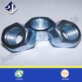 Hex Nut with Blue Zinc