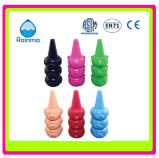 Color Plastic Finger Crayon with Cute Animal Shape