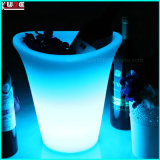 Customized Vodka Bottle Ice Bucket LED Ice Bucket