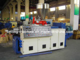 Conical PVC Double Twin Screw Extruder