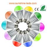 RGBW E27/E26 7.5W LED Bulb with RF Remote Control