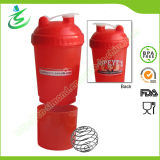 600ml Fit Shaker Bottle with Storages