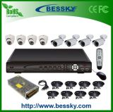 Hot Offer Shenzhen 8 Channels CCTV Security Camera System with H264 DVR and Security Camera Kit
