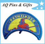 100% Embroidery Area Patch with Bend Shape