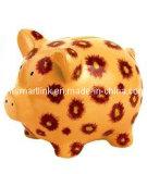 Poly Resin Pig Coin Box, Decorative Pig Money Bank
