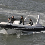 Liya 3.3-7.5m FRP Rib Boats Small Luxury Yacht for Sale