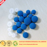 Rubber sponge cleaning ball
