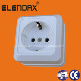 European Style Surface Mounted Wall Power Socket (S1010)