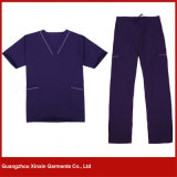 Factory Customized High Quality Hospital Scrubs Garments Wear Supplier (H11)