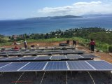 Ane Solar Wind Hybrid System Supply Power for off Grid Use