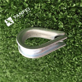 Hot Selling Us Type Marine Wire Rope Thimble with Clips