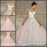 Sweetheart Tulle Prom Ball Gown Embroidered Sequins Evening Quinceanera Dress Ld152101