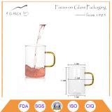 420ml Unique Design Espresso Clear Shot Glass Tea Cup