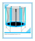 6FT Mini Indoor Kids Trampoline Round Jumping Trampoline