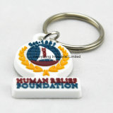 Promotional 2D 3D Cartoon Rubber Key Chain Keychain for Gifts
