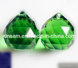 Small Green Crystal Parts for Chandeliers Trimming and Crystal Pendant Lamp Parts (KS28019)
