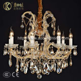 Newest Modern Design Beautiful Luxury Crystal Chandelier Lamp (AQ50003A-8)