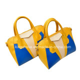 Latest Contrast Fashion PU Ladies Handbag (KCH134-2)