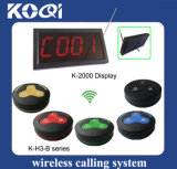 CE Approved 433.92MHz Table Ordering System for Fast Food Club KTV Shop