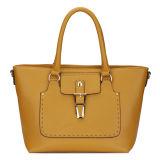 Elegant Metal Details Designer Tote Handbags (MBNO035048)