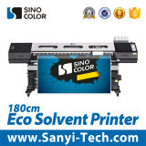 High Quality Dx7 Eco Solvent Printer, Optinal 1.8 or 3.2 M Printing Width, 1440 Dpi High Resolution