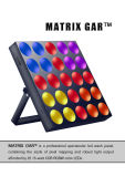 Rasha Hot Sale 5*5 DOT LED Matrix Light 25LEDs 4in1 RGBW LED Matrix Beam Light Stage LED Display
