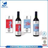 Custom Self Adhesive Wine Label Sticker for Bottle