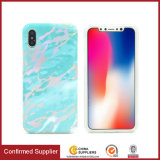 Gold Chrome Marble Texture Design Durable Phone Case for iPhone X