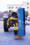 Adjustable Roller Unit& Skids of Flail Mower