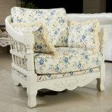 Ikea Style Royal Fabric Sofa for Living Room Furniture (167#)