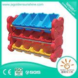 Children Furniture Plastic Toy Shelf Storage Cabinet with Ce/Ios Certificate