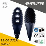 Everlite 200W LED Street Light with IP66 Ik08
