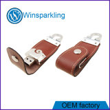 Leather USB Flash Disk for Promotional USB