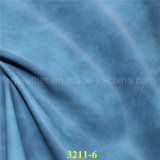 Brushed Effect PU Faux Leather Fabrics for Footwear