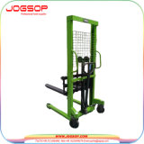 Logistic Equipment Manual Semi Electric Straddle Lifting Stacker Price