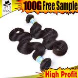 100% Virgin Hair, Brazilian Human Hair, Hair Extension