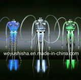 1 Set Stainless Steel Frame LED Hookah