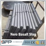 Nero Basalt Step and Riser for Home Decoration and Flooring