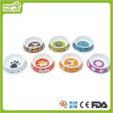 Variety Printing Melamine Dog and Cat Bowls (HN-PB815)