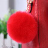 Wholesale Price Frosted Fox Fur Ball Fake Fur Pompom Manufacturer