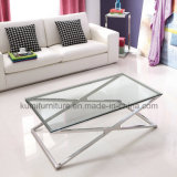 Modern Home Furniture Stainless Steel Coffee Table
