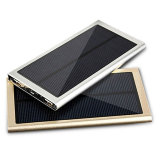 Universal Solar Powerbank 12000mAh Ultra-Thin Solar Charger External Battery Pack