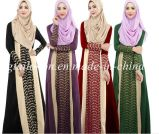Fashion Woman Abayavoile Dress for Woman Islamic Clothes